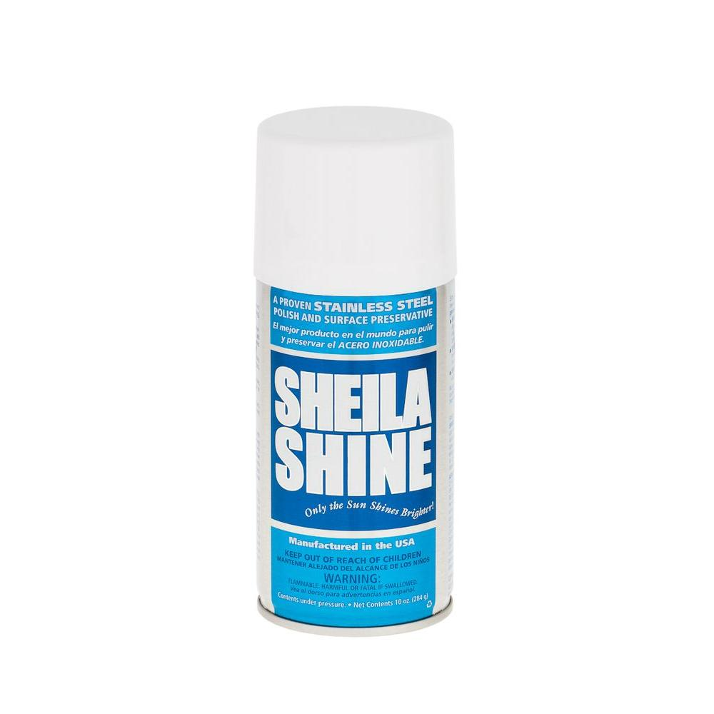 null 10 oz. Sheila Shine Aerosol Stainless Steel Polish and Surface Preservative