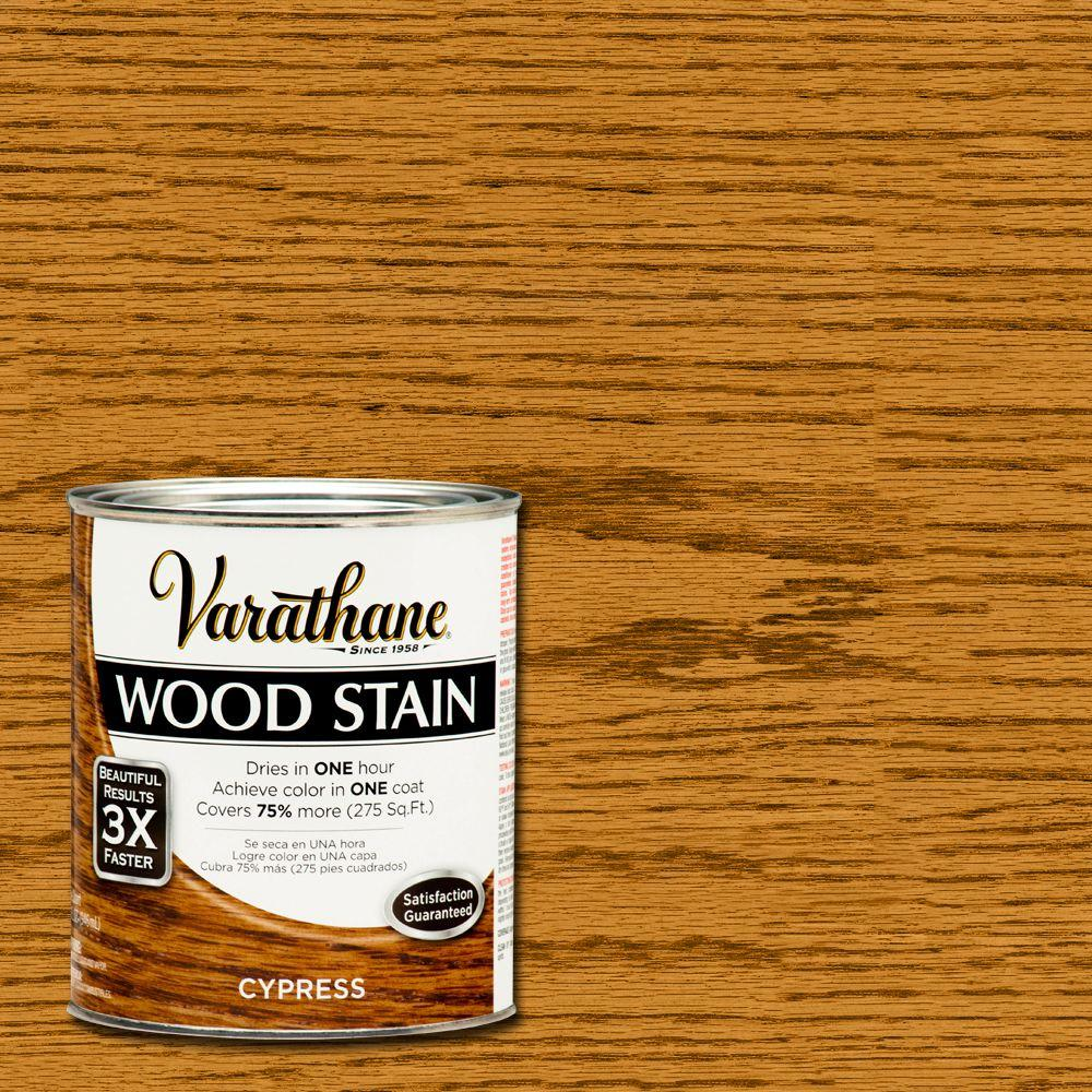 Varathane 1-qt. 3X Cypress Wood Stain (2-Pack)-266254 - The Home Depot
