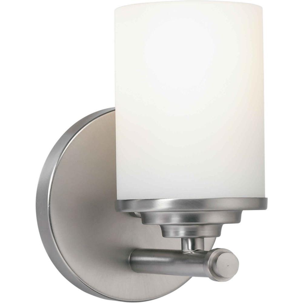 Talista Oralee 1-Light Brushed Nickel Bath Vanity Light-CLI-FRT5105-01-55 - The
