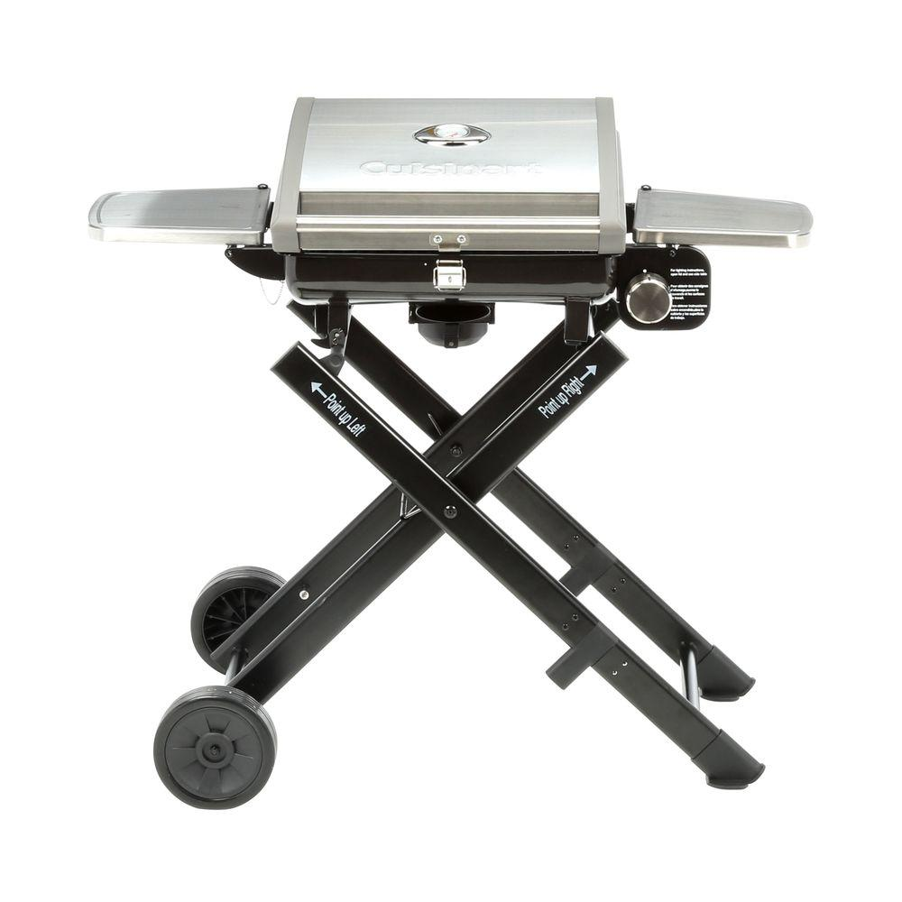 Cuisinart All Foods Roll-Away Propane Gas Grill-CGG-240 - The Home Depot