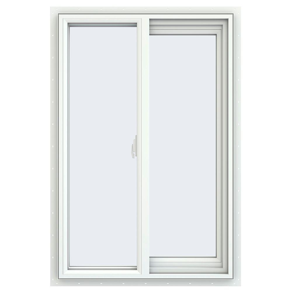 23.5 in. x 35.5 in. V-2500 Series Right-Hand Sliding Vinyl Window