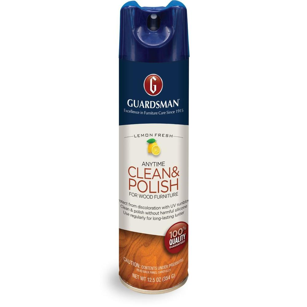 Guardsman 12.5 oz. Revitalizing Wood Polish Lemon Fresh Aerosol