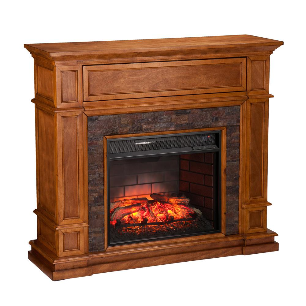 Indoor Fireplaces Stone & Faux Fireplace at The Home Depot