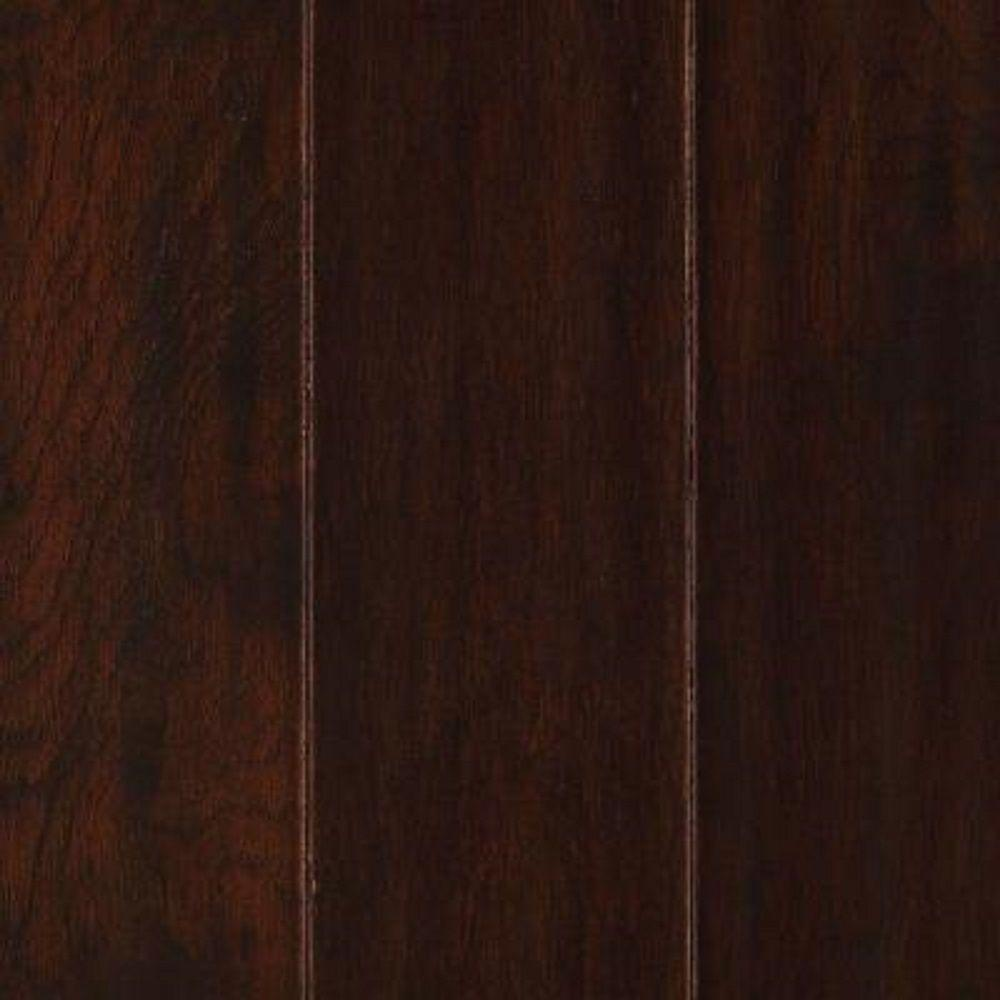 Take Home Sample - Duplin Chocolate Hickory Engineered Hardwood Flooring - 5 in. x 7 in.