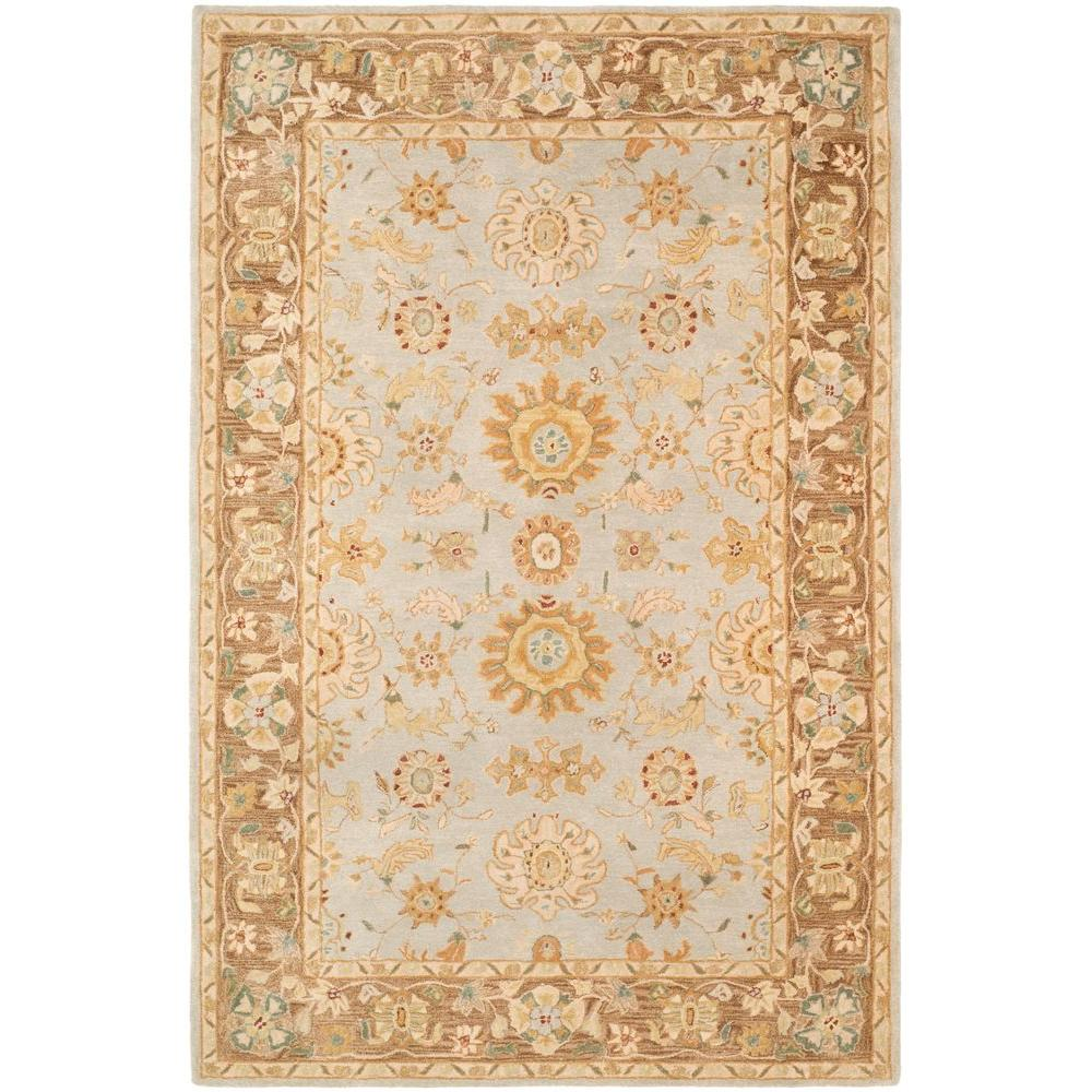 Safavieh Anatolia Teal/Brown 6 ft. x 9 ft. Area Rug-AN557A-6 -
