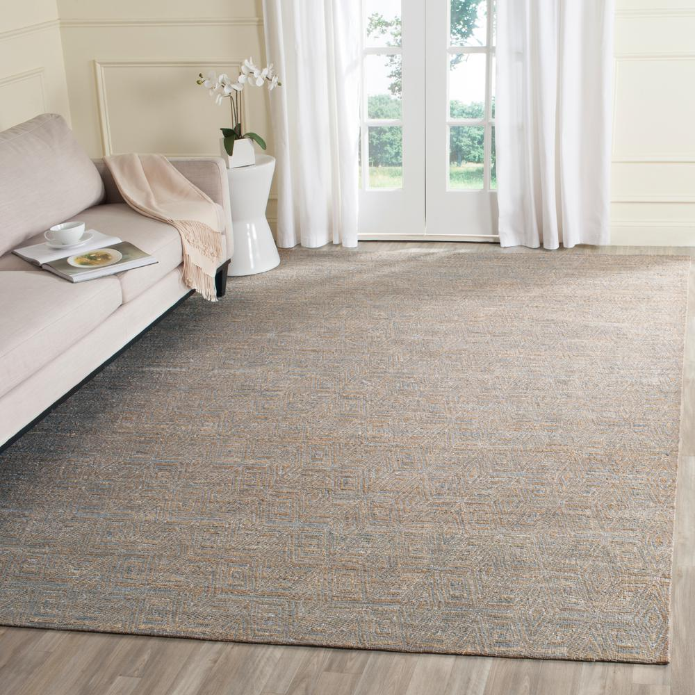 Cape Cod Grey/Sand 8 ft. x 10 ft. Area Rug