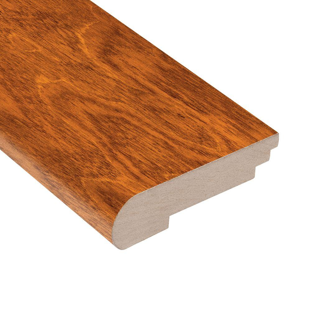 Home Legend Maple Amber 1/2 in. Thick x 3-1/2 in. Wide x 78 in. Length Hardwood Stair Nose Molding