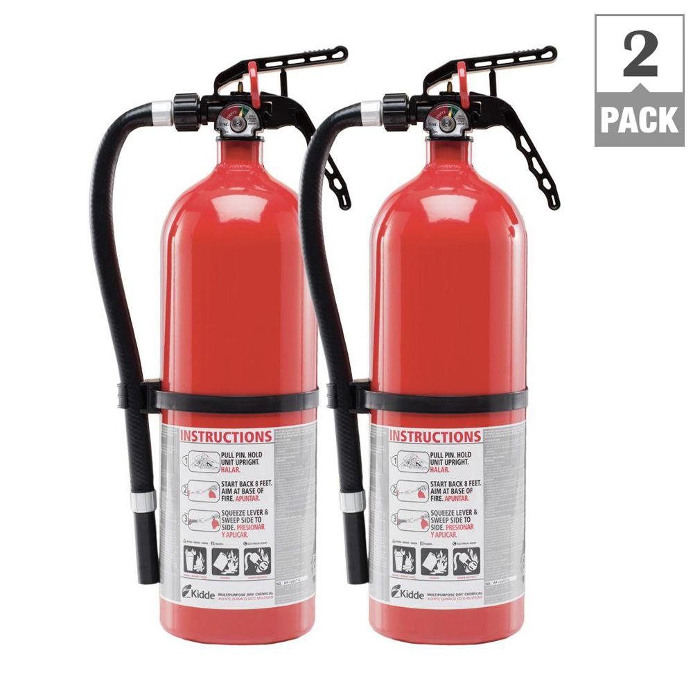Full Home 3-A;40-B;C Disposable Fire Extinguisher Twin Bundle