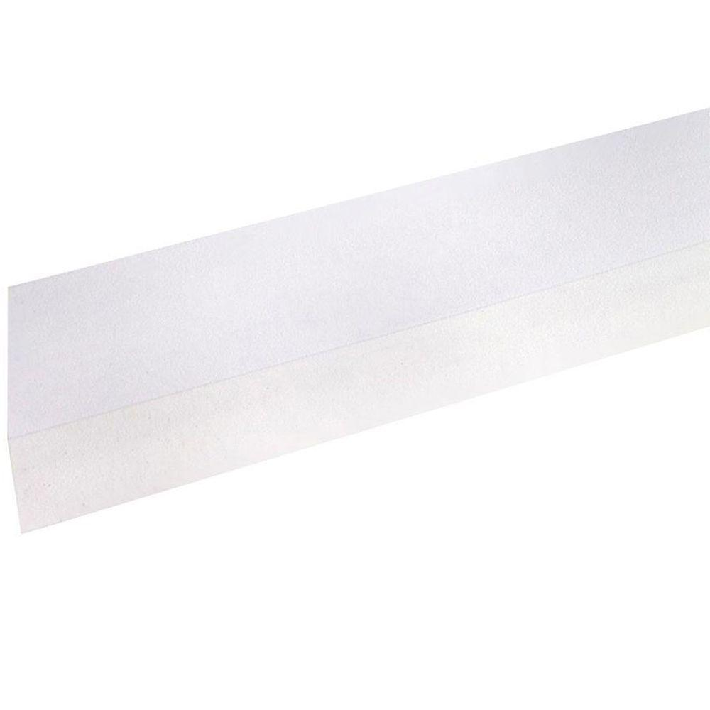 M-D Building Products 1/2 in. x 36 in. Vinyl Self-Adhesive Door Sweep in White