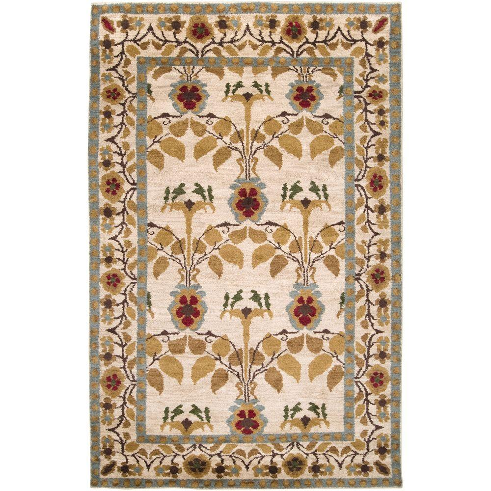 Artistic Weavers Fairfield Ivory 5 ft. x 8 ft. Area Rug