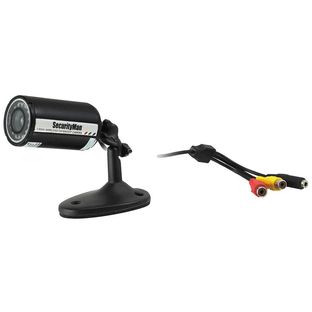 Wired Indoor/Outdoor Bullet Color Camera Kit with100 ft. Cable