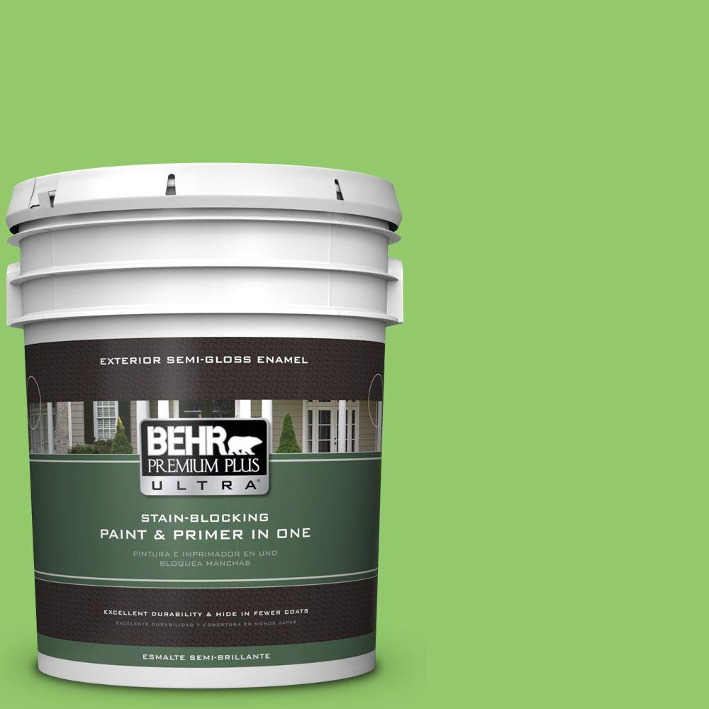 5-gal. #430B-5 Apple Orchard Semi-Gloss Enamel Exterior Paint