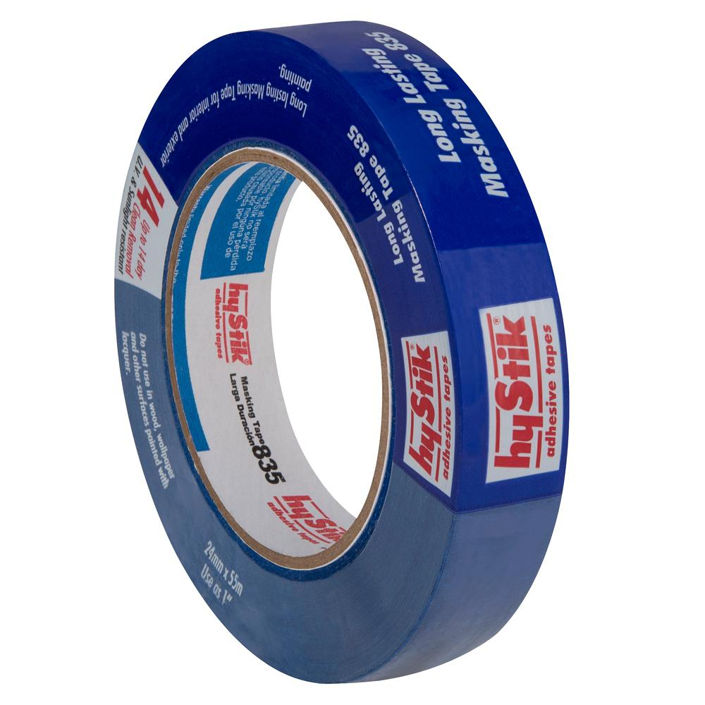 hyStik 1 in. x 60 yds. Blue Painters Masking Tape