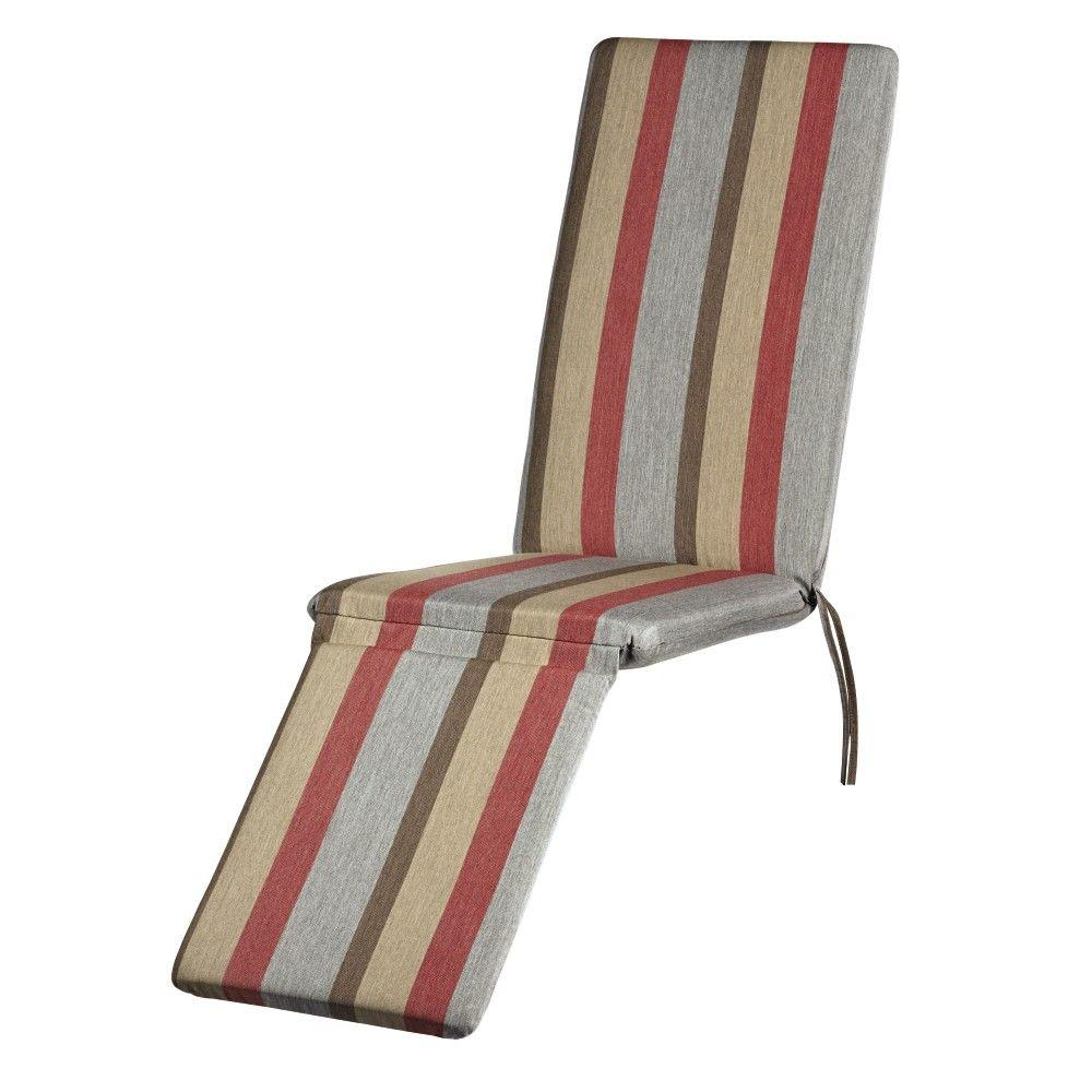 Home Decorators Collection Sunbrella Gateway Blush Outdoor Chaise Lounge