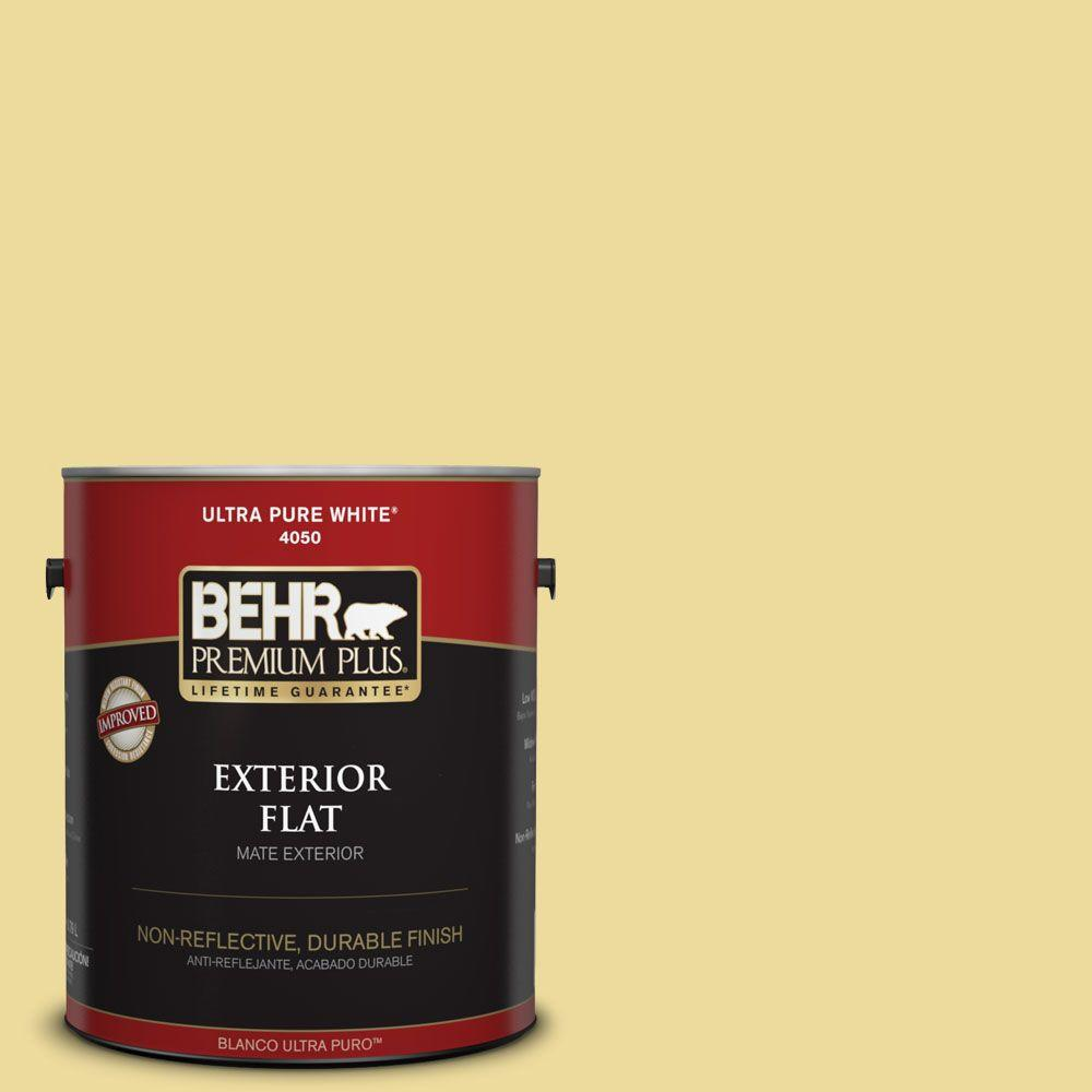 1-gal. #P330-3 Pear Cider Flat Exterior Paint