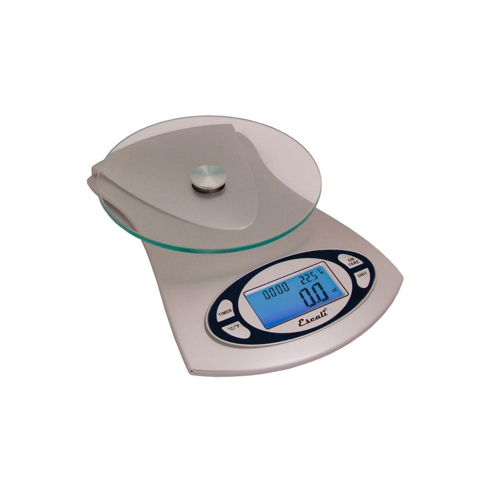 11 lb. Vitra Glass Top Food Scale