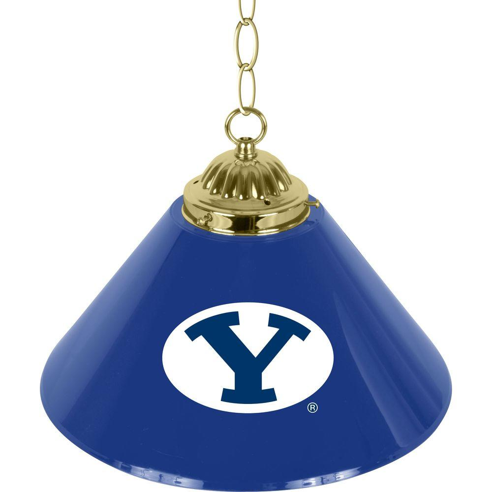 BYU 14 in. Single Shade Hanging Lamp