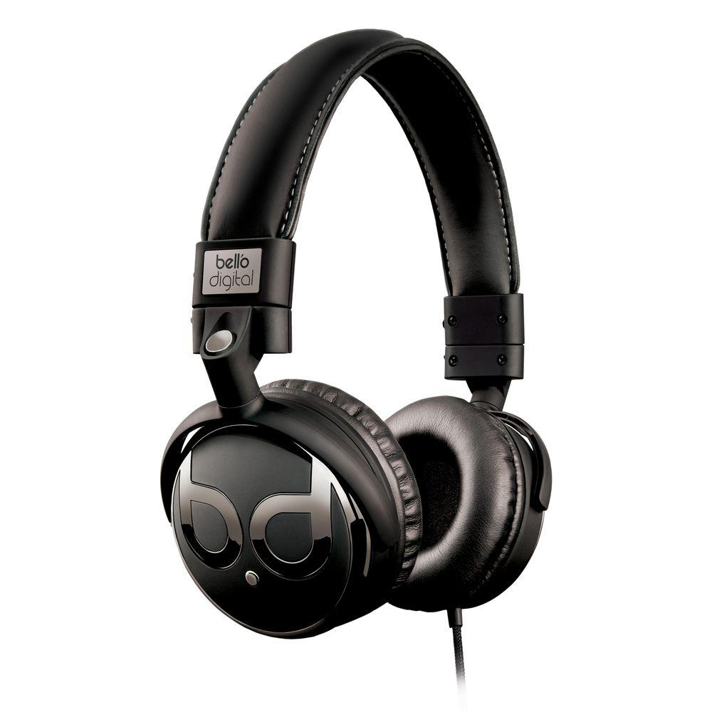 Bell'O Digital BDH821 Series Over-the-Head Headphones with Track Control and