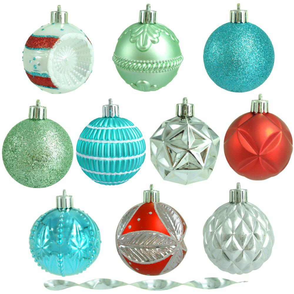 2.3 in. Christmas Morning Shatter-Resistant Ornament (101-Count)