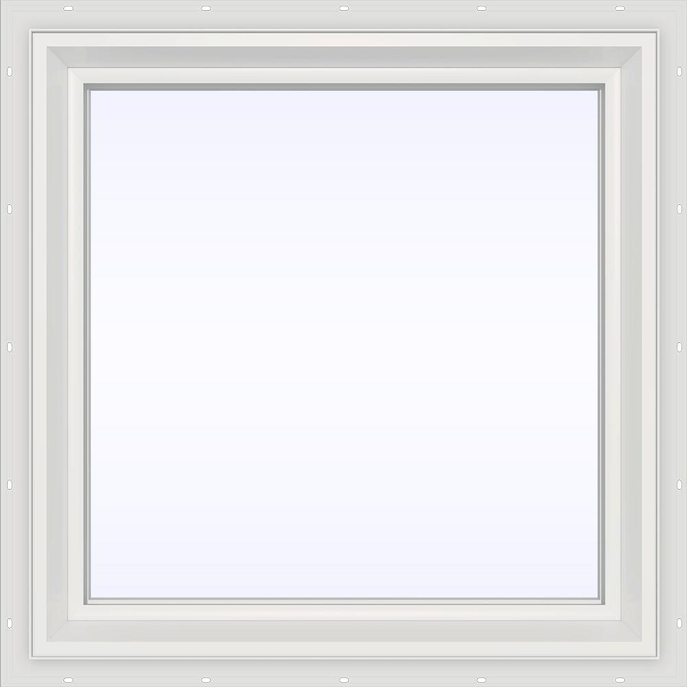 23.5 in. x 23.5 in. V-2500 Series Fixed Picture Vinyl Window