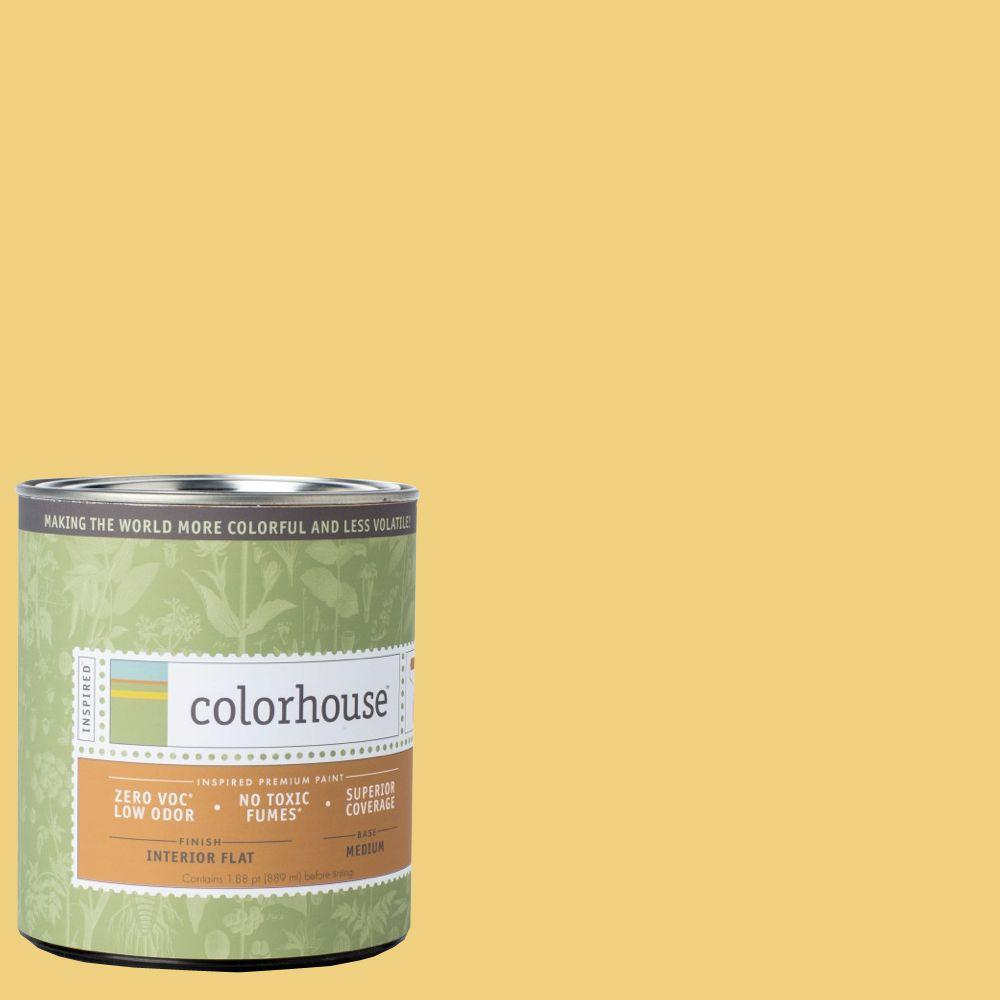 Colorhouse 1-qt. Aspire .04 Flat Interior Paint-681145 - The Home Depot
