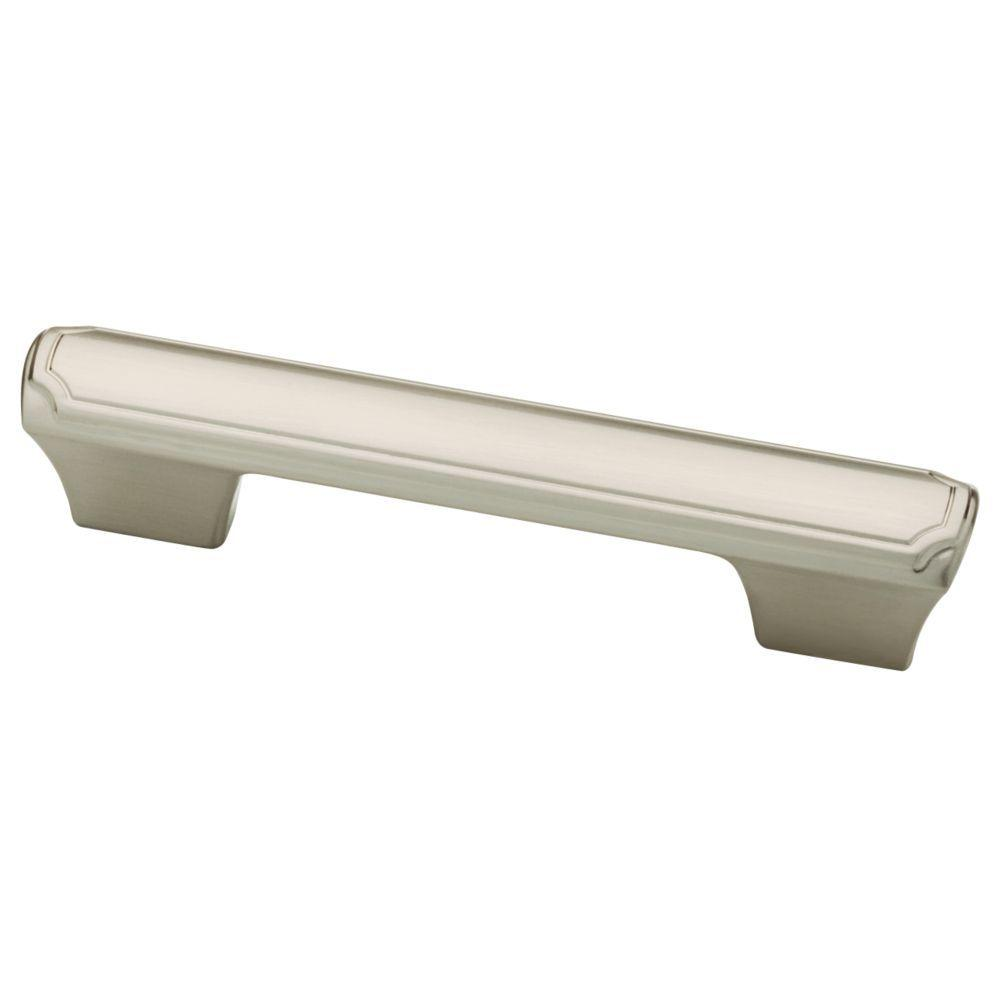 Athens 3 or 3-3/4 in. (76 or 96mm) Satin Nickel Theo