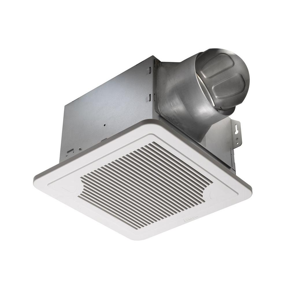 Air King Quiet Zone 280 Cfm Ceiling Bathroom Exhaust Fan: Delta Breez Radiance 80 CFM Ceiling Exhaust Fan With Light