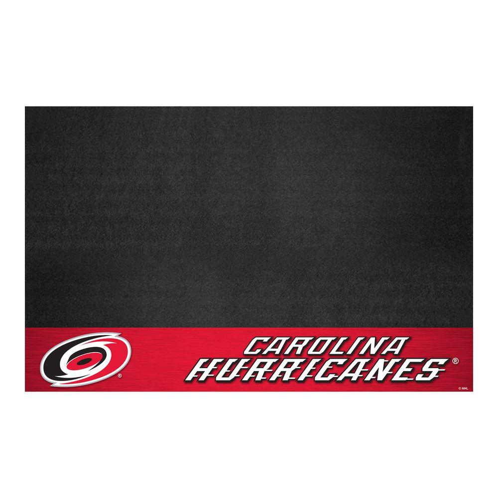 FANMATS Carolina Hurricanes 26 in. x 42 in. Grill Mat-14229 -