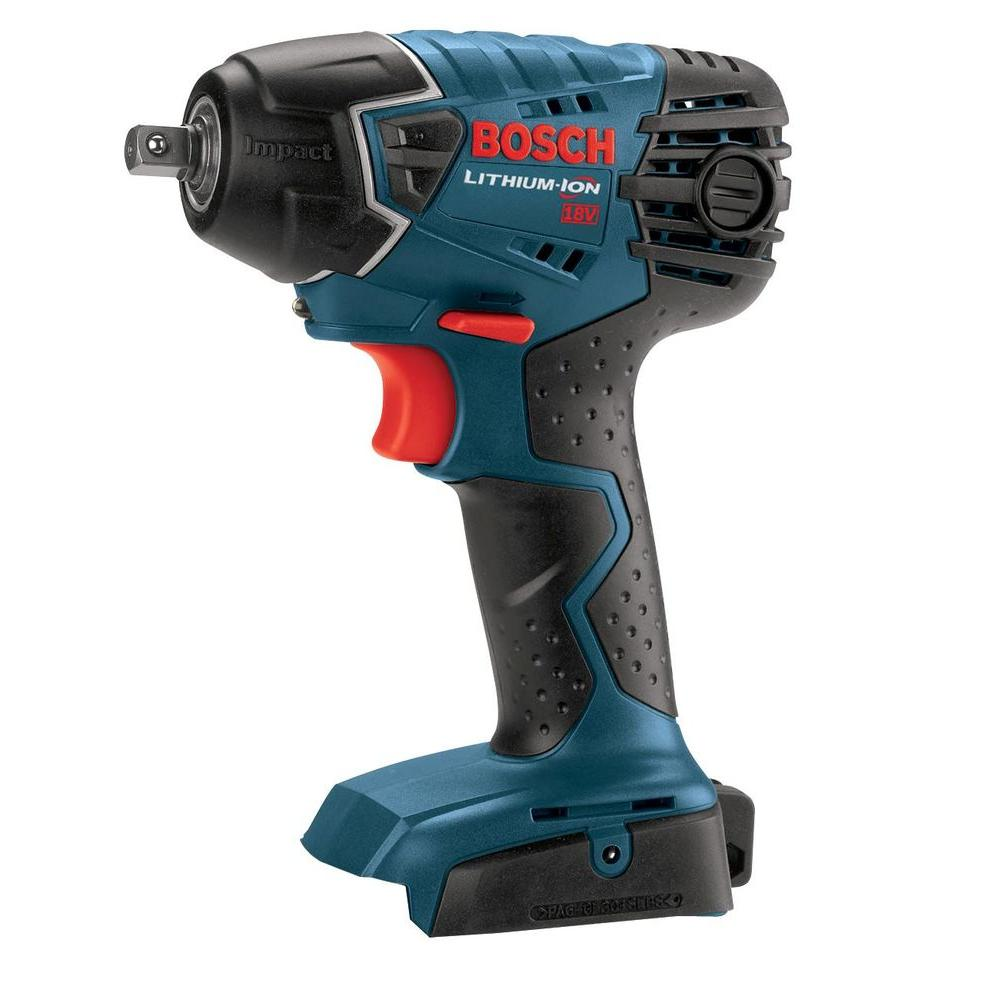 Bosch 18-Volt Lithium-Ion 3/8 in. Impact Wrench Bare Tool (Tool Only)