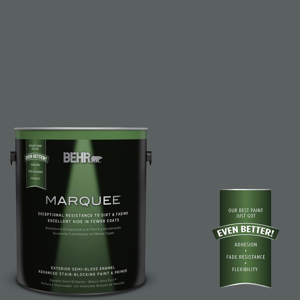 BEHR MARQUEE 1-gal. #720F-6 Paramount Semi-Gloss Enamel Exterior Paint
