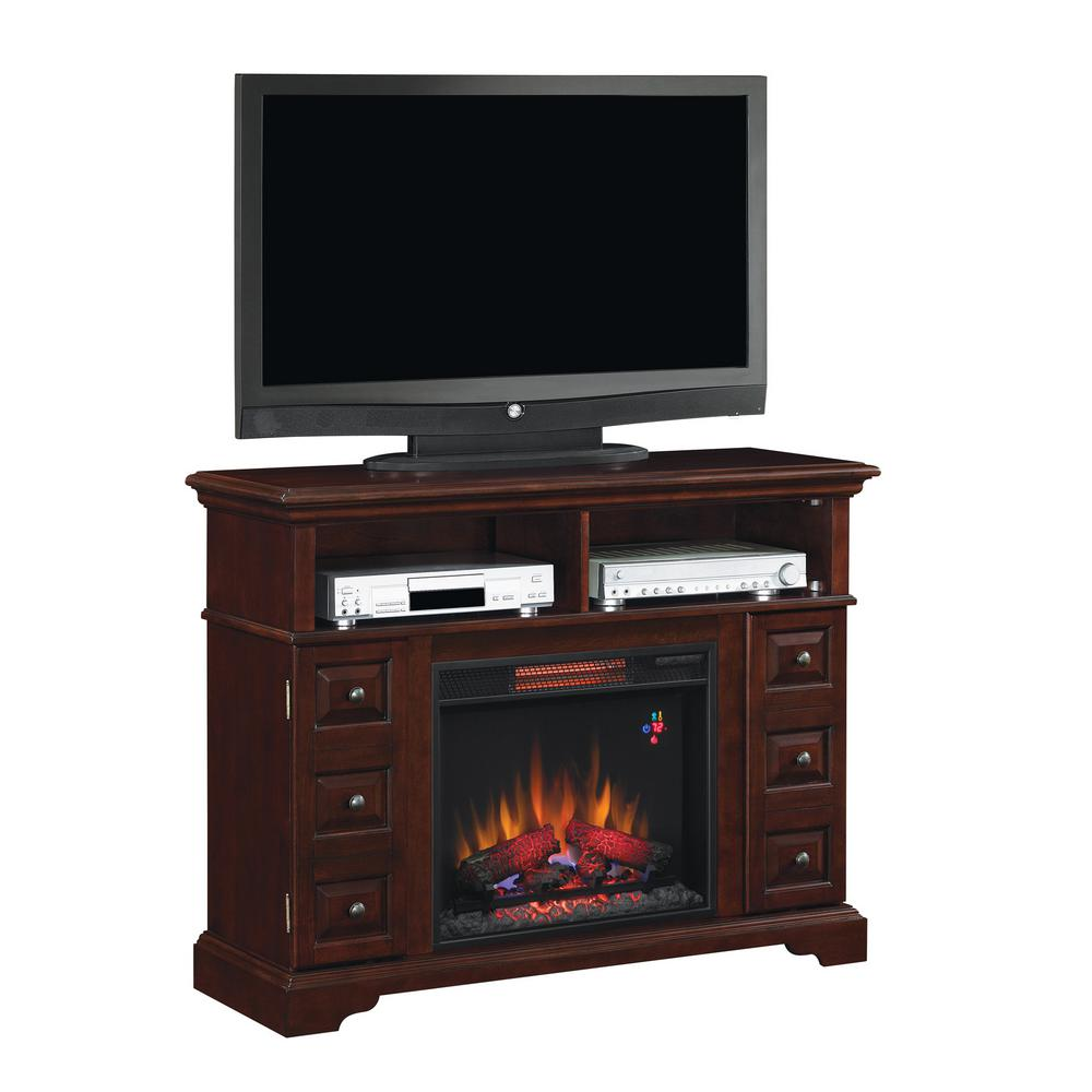 Classic Flame Bellbrook 48 in. Media Console Electric Fireplace in Summer