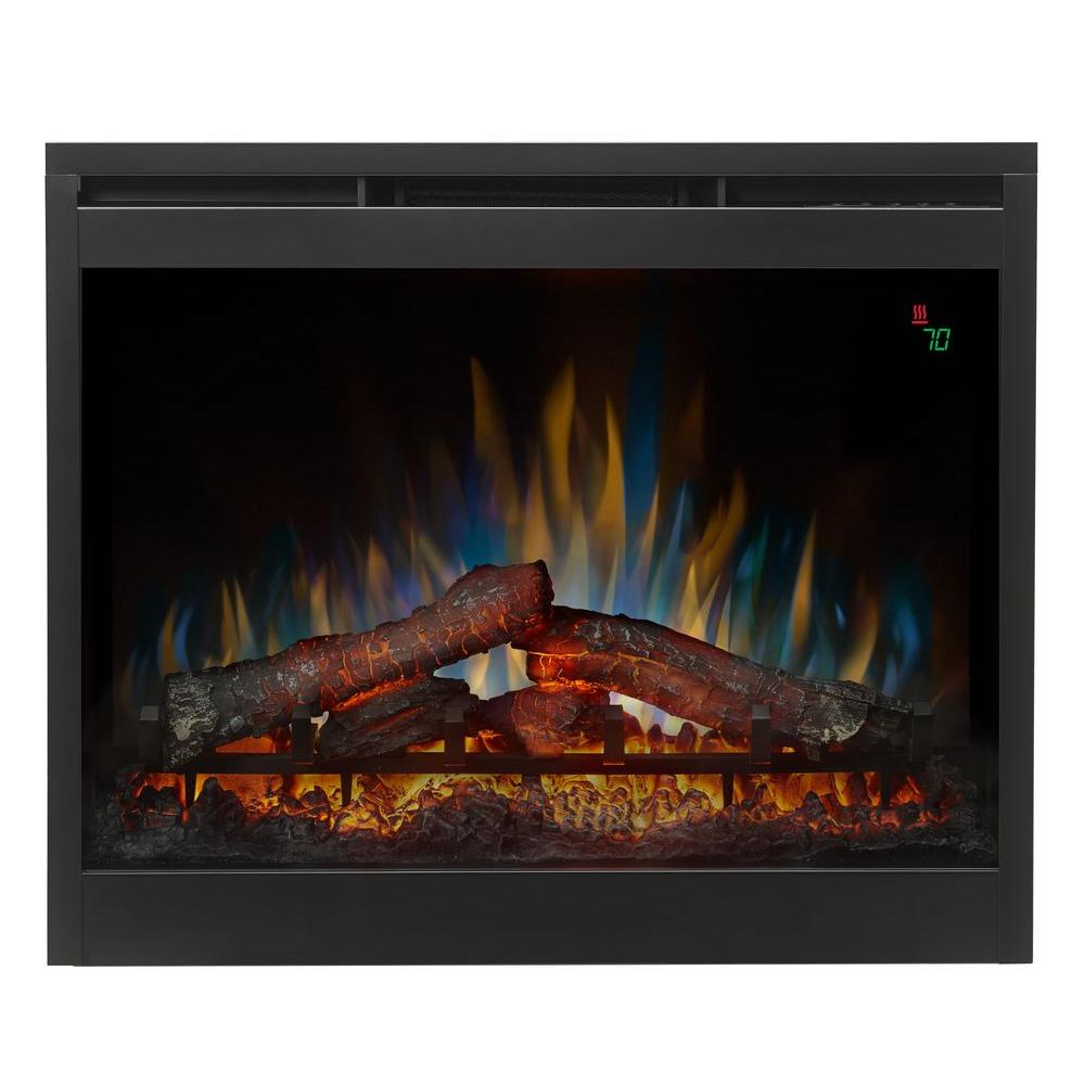 Dimplex 26 in. Electric Firebox Fireplace Insert-DFR2651L - The Home Depot
