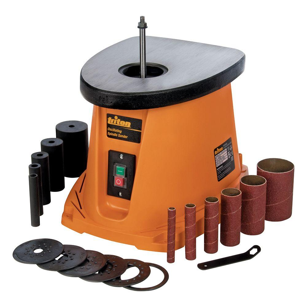 Triton 110-Volt Oscillating Spindle Sander-TSPS450 - The Home Depot