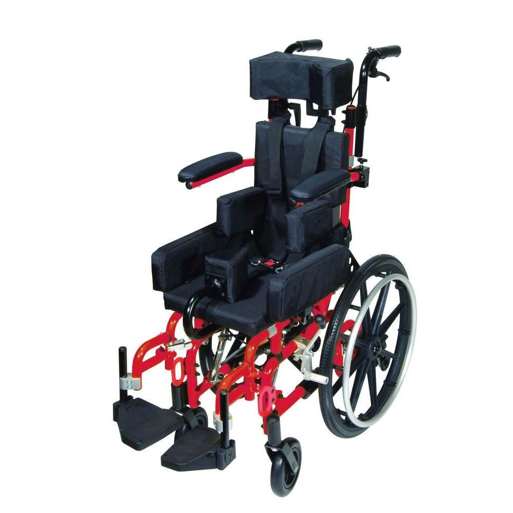 Kanga TS Pediatric Tilt-In-Space Wheelchair with 12 in. Seat