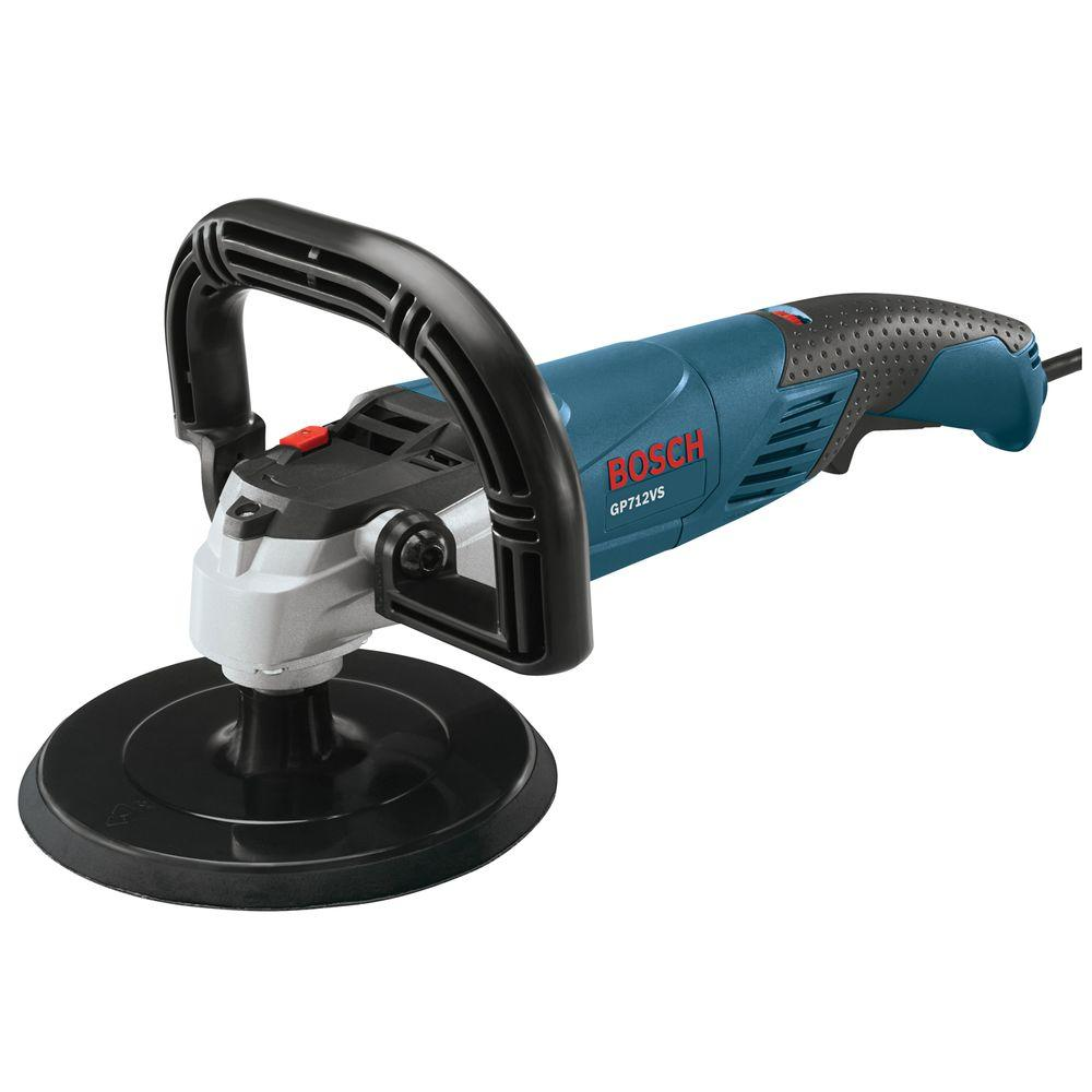12 Amp Corded 7 in. Variable Speed Polisher with Hook and