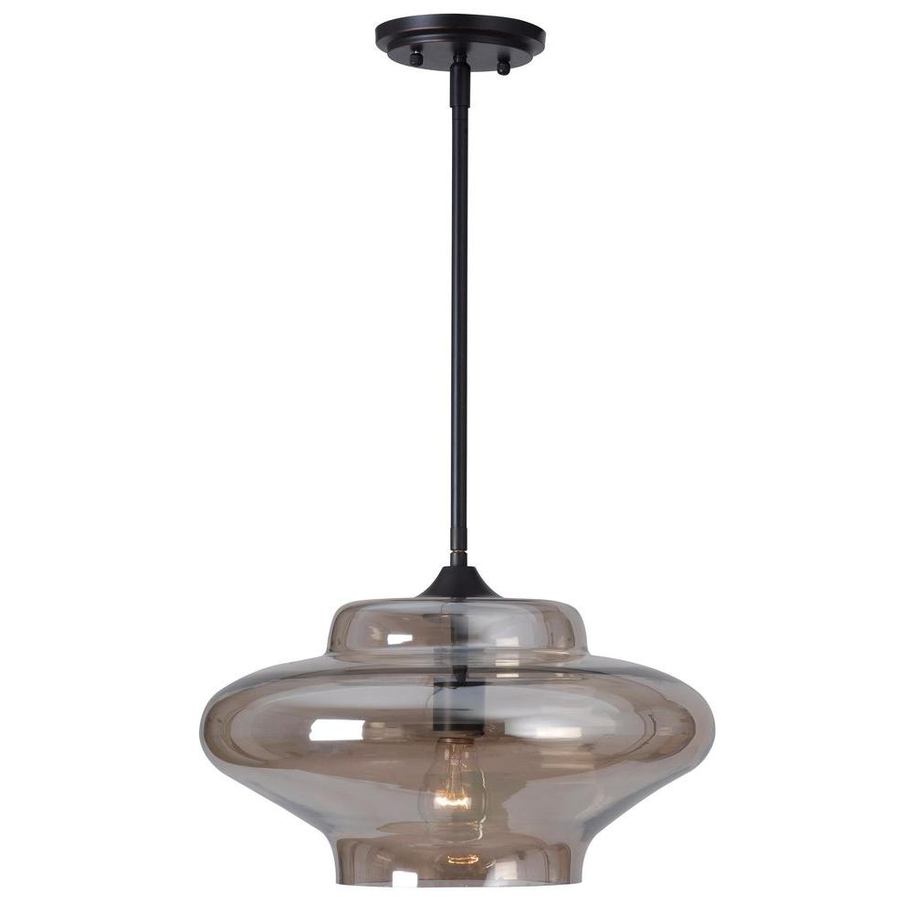 Titan Lighting Chatham 3 Light Oiled Rubbed Bronze Large