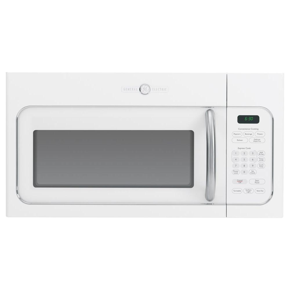 GE Artistry 1.6 cu. ft. Over the Range Microwave in White