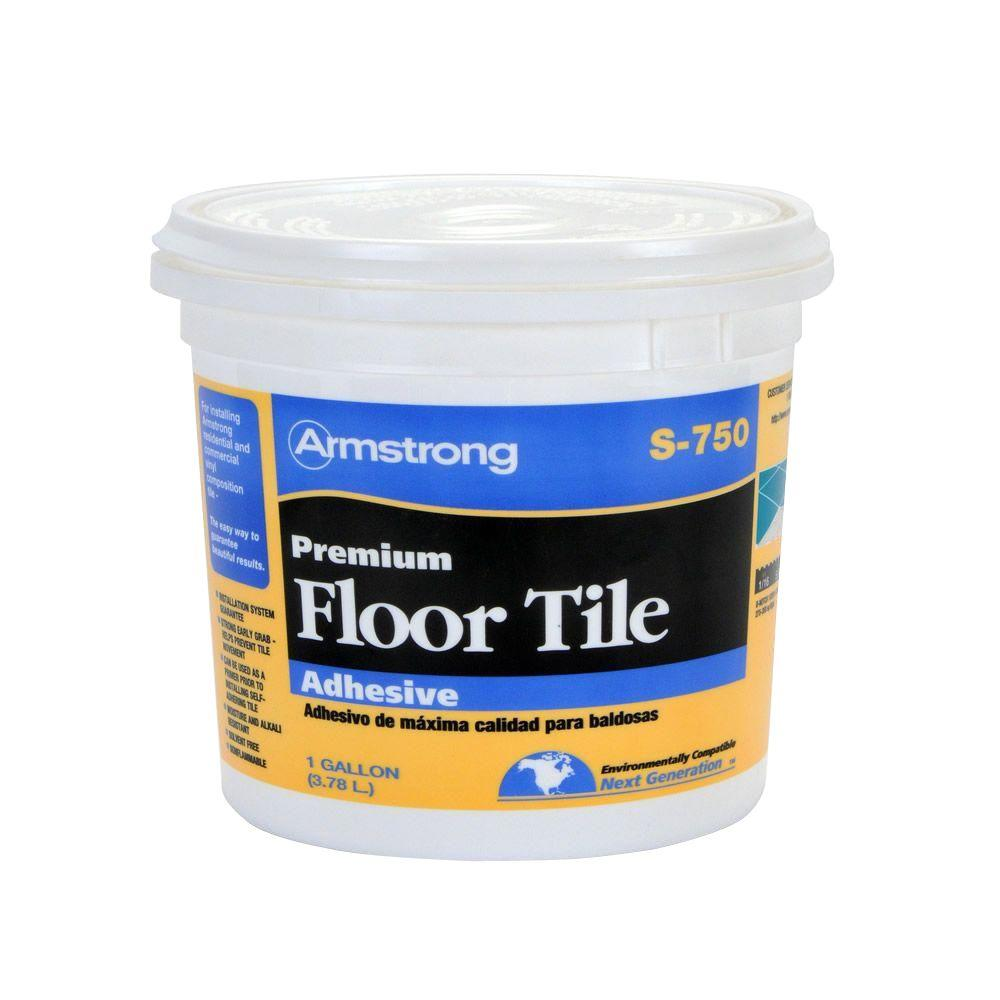 Armstrong S-750 1 Gal. Resilient Tile Adhesive-00750408 - The Home Depot