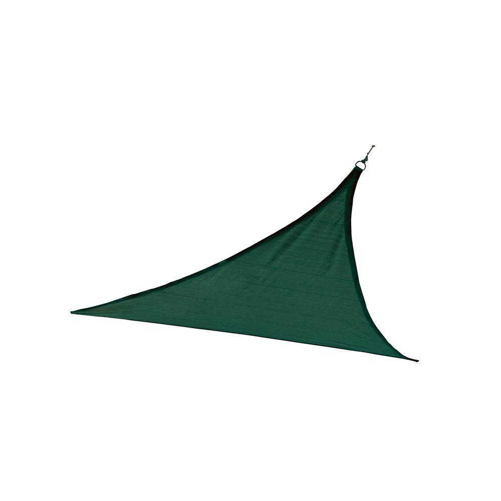 12 ft. x 12 ft. Evergreen Triangle Heavy Weight Sun Shade