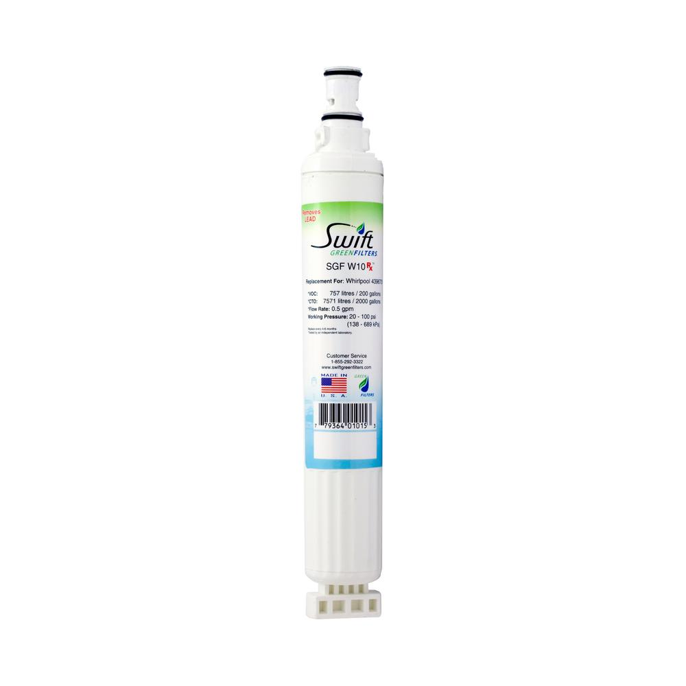 Whirlpool 4396701 Compatible Refrigerator Water Filter