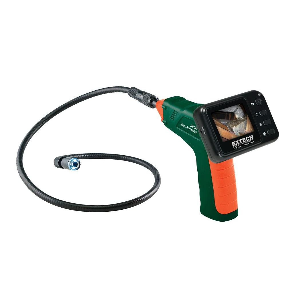 Extech Instruments Video Borescope Inspection Camera-BR100 - The Home Depot