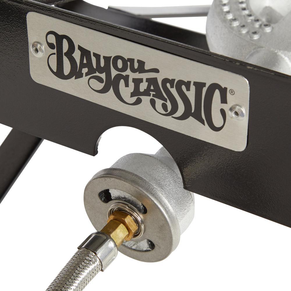 Bayou Classic 55 000 Btu Propane Gas Single Burner Outdoor