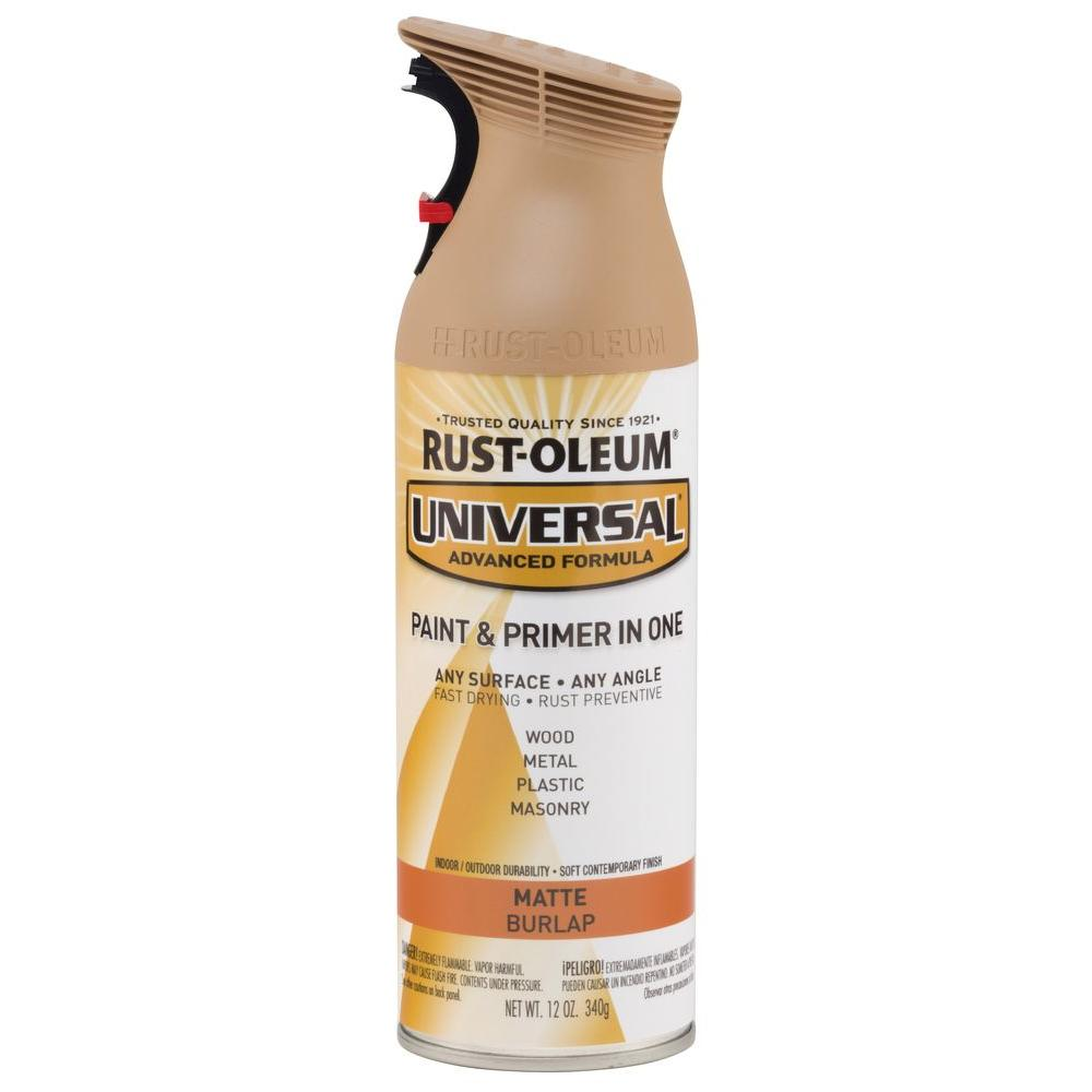 Rust Oleum Universal 12 Oz All Surface Matte Burlap Spray