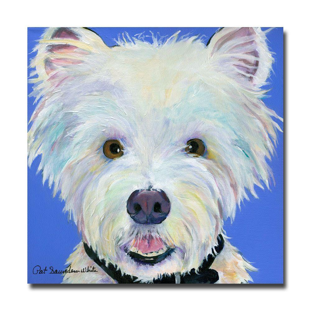 18 in. x 18 in. Amos Canvas Art