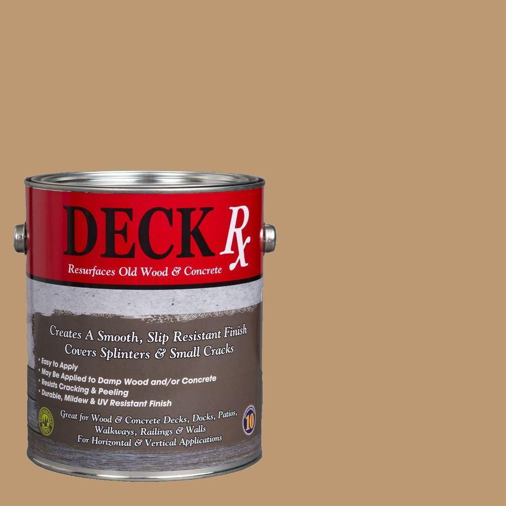 Deck Rx 1 gal. Sandstone Wood and Concrete Exterior Resurfacer