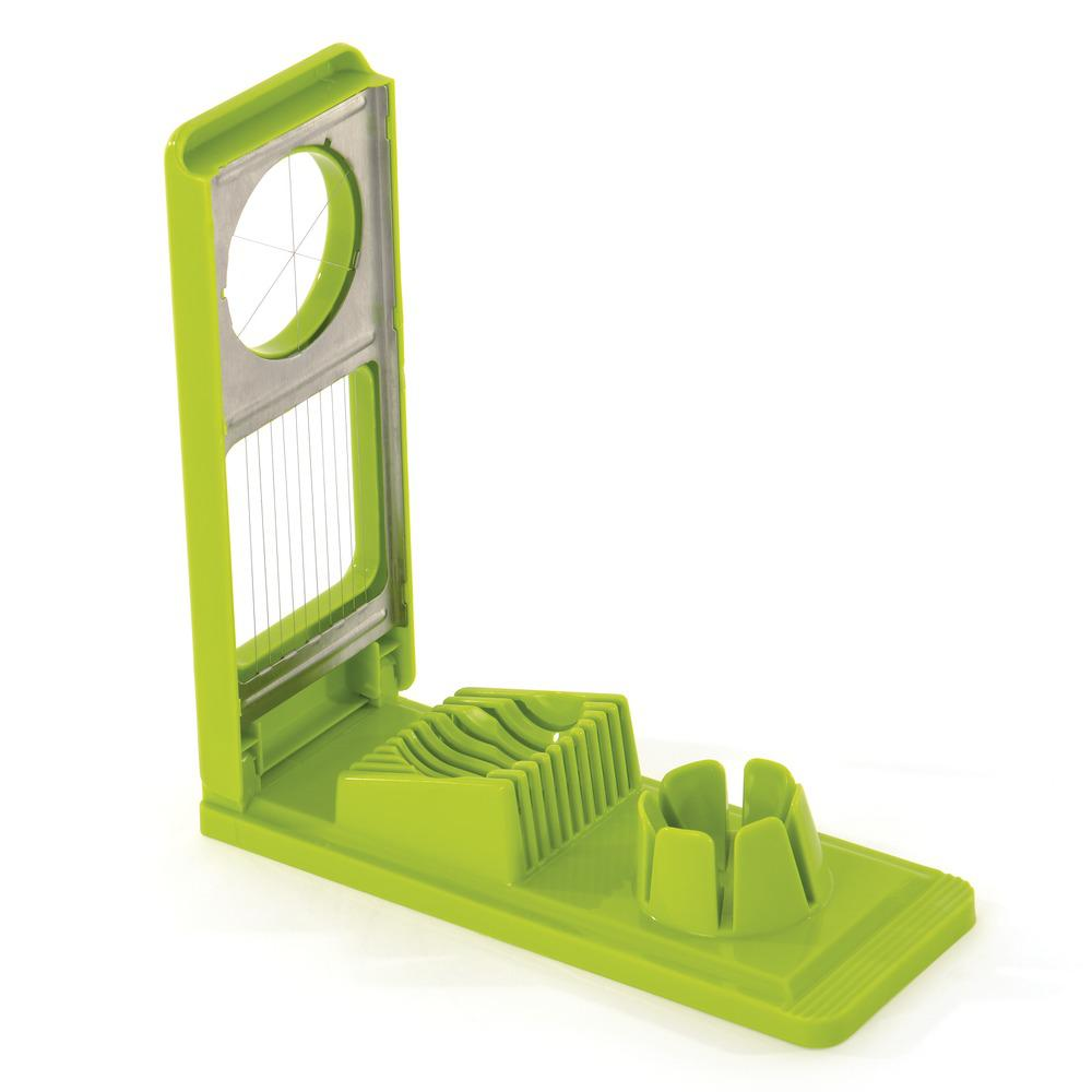 Berghoff International Inc Egg Slicer, Green/White