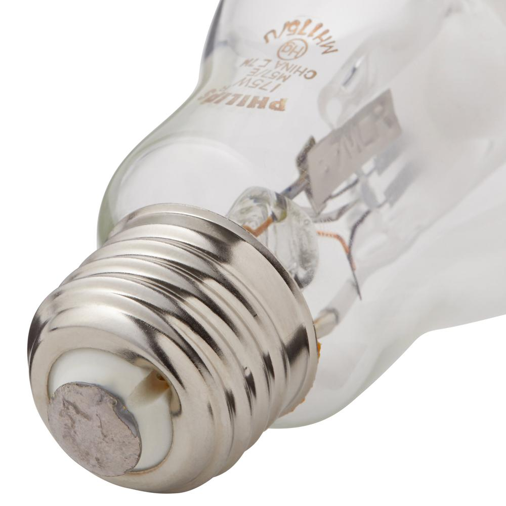 philips 175 watt bd17 hid switch start metal halide high intensity