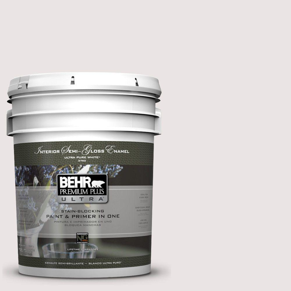5-gal. #PPL-44 French Heirloom Semi-Gloss Enamel Interior Paint