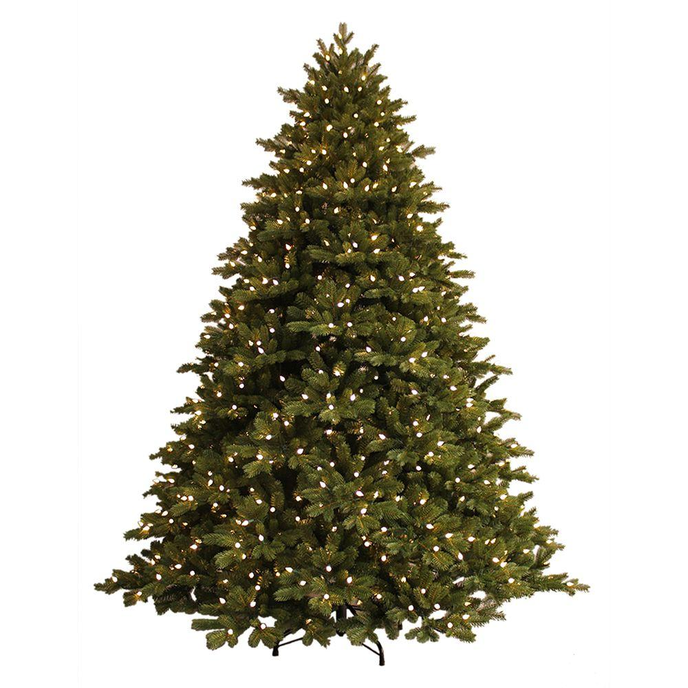 GE 7.5 ft. Just Cut Norway Spruce EZ Light Artificial Christmas ...