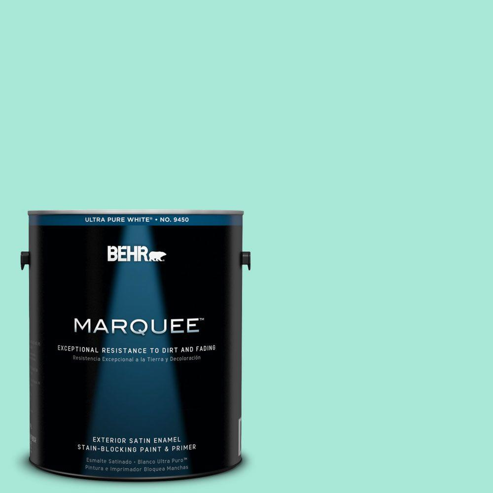 BEHR MARQUEE 1-gal. #480A-2 Botanical Tint Satin Enamel Exterior Paint